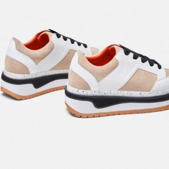 Zara Shoes | Zara Platform Sneakers